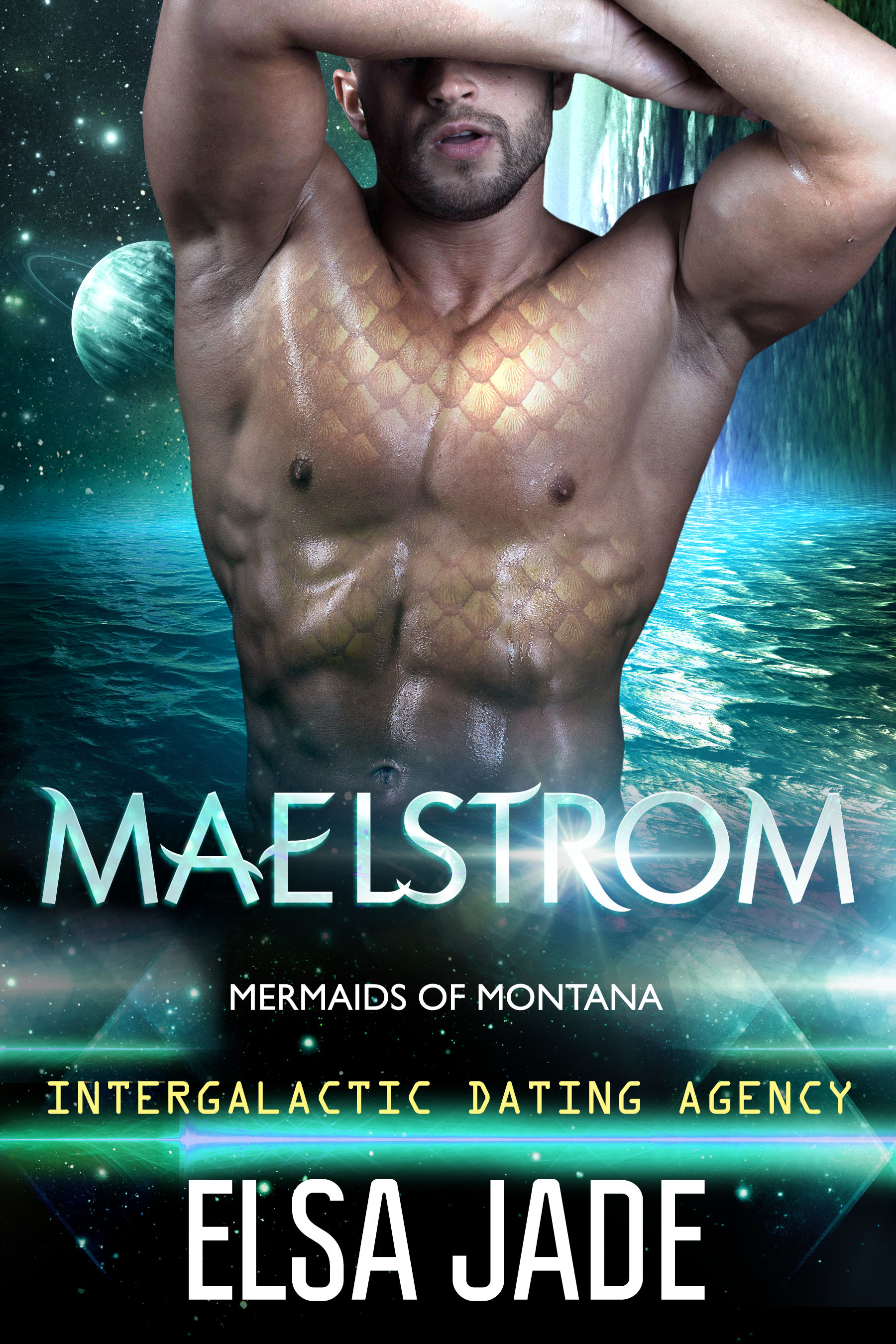 Maelstrom: Mermaids of Montana by Elsa Jade science fiction romance