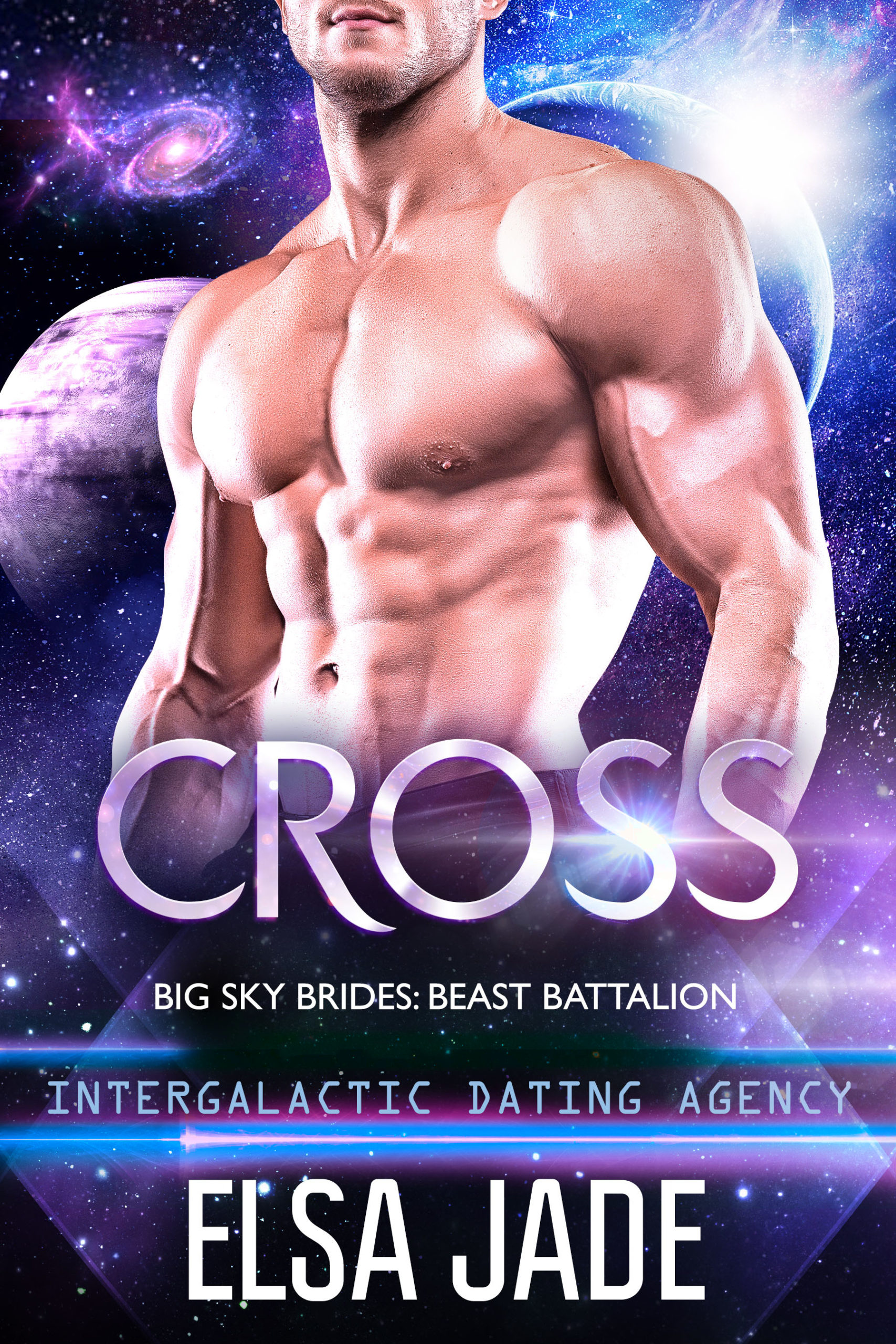 Cross: Big Sky Alien Brides: Beast Battalion #1 by Elsa Jade science fiction romance